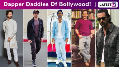 Father's Day 2020: Saif Ali Khan, Shahid Kapoor, Hrithik Roshan, Riteish Deshmukh, Arjun Rampal, Kunal Kemmu – Say Hello to These Dapper Daddies of Bollywood!