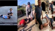 Infuriating #GeorgeFloydChallenge Sees People Recreating the Cold-Blooded Murder of George Floyd on Twitter; Racist & Ignorant Trend Enrages Netizens (View Pics)