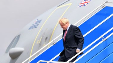 British Prime Minister Boris Johnson's Official Jet 'The Royal Air Force Voyager' Gets Brexit Makeover