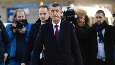 Czech Republic PM Andrej Babis Says Russian Diplomat Spread Fake Report of Assassin Arriving to Target Czech Capital's Mayors