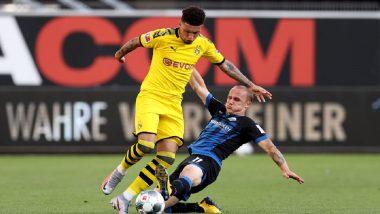 Bundesliga 2020: Jadon Sancho's Hat-Trick Helps Borussia Dortmund Thrash Paderborn
