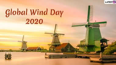 Global Wind Day 2020 Date And Significance: Know The History And Objective of the Day That Highlights the Power of Wind Energy