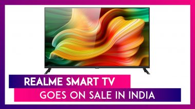 Realme Smart TV Goes on First Online Sale in India Through Realme. Com & Flipkart