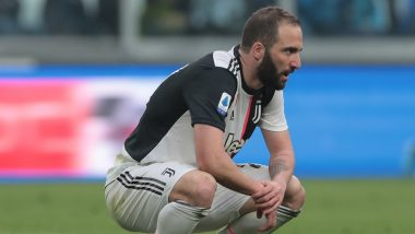 Gonzalo Higuain Injury Update: Juventus Striker Suffers Thigh Injury, Could Be Out for Opening Week Post 2019–20 Serie A Resumption