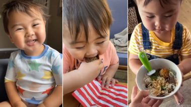 After Chef Kobe, Here's Grey, a 2-Year-Old Baby Whose 'Thank You, Mama' Videos Has Made Him Internet's Favourite