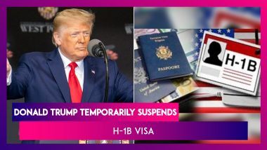 """Donald Trump Temporarily Suspends H-1B Visa, """"Moving To Merit Based System,"""" Says US"""