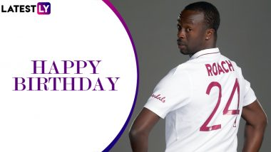 Kemar Roach Birthday Special: Times When West Indies Fast Bowler Wreaked Havoc