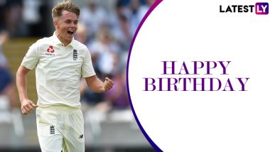 Sam Curran Birthday Special: 4/74 vs India and Other Brilliant Performances by England All-Rounder