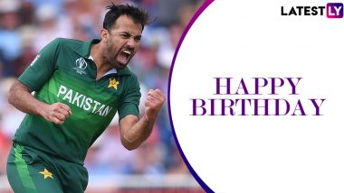 Wahab Riaz Birthday Special: 5/46 vs India in 2011 World Cup Semi-Final and Other Stupendous Performances by Pakistan Speedster