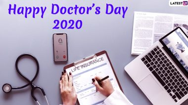 National Doctor's Day Images and HD Wallpapers for Free Download Online: Wish Happy Doctors' Day 2020 With WhatsApp Stickers and GIF Greetings