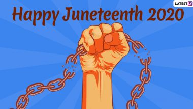 Juneteenth 2020 Wishes: WhatsApp Stickers, HD Images, Facebook Greetings, Instagram Stories, SMSes And Messages to Send on Emancipation Day