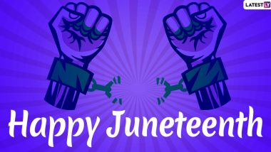 Juneteenth 2021: What Is Juneteenth Meaning? Know Date, History, Significance and Everything About This Major Holiday Celebrating The End of Slavery In United States
