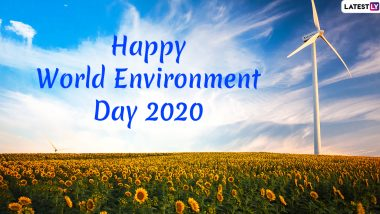 Happy World Environment Day 2020 Images and Wallpapers For Free Download Online: WhatsApp Stickers, Facebook Greetings, GIFs, SMS and Messages to 'Celebrate Biodiversity'