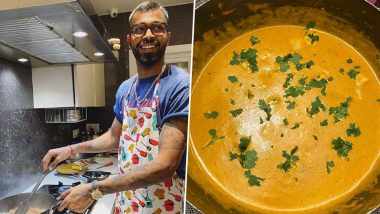 Hardik Pandya Performs Chef Duties at Home, Makes 'Cheese Butter Masala' for Family (View Post)