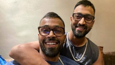 'Blessed With the Best': Hardik Pandya 'Twinning' With Brother Krunal in Latest Instagram Picture