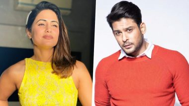 Bigg Boss Stalwarts Hina Khan and Sidharth Shukla To Team Up For An Exciting Project? The Actress Answers