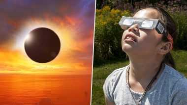 How to Watch Solar Eclipse 2021 Safely? 5 Tips To View 'Ring of Fire' Surya Grahan Without Damaging Your Eyes
