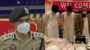 Jammu and Kashmir Police Chief Vijay Kumar Hints at Handing Over Narco-Terror Module Case to NIA as Links Emerge in Pakistan, Delhi And Mumbai