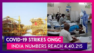 ONGC Stops Operations At Two Rigs In Arabian Sea As COVID-19 Strikes; India Numbers Reach 4,40,215