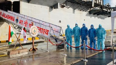 INS Jalashwa Reaches Colombo to Bring Back 700 Stranded Indians Under Samudra Setu Initiative