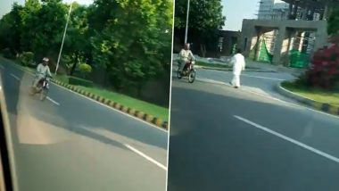 Indian Charge d'Affaires Gaurav Ahluwalia Chased by ISI Member in Pakistan, Watch Video