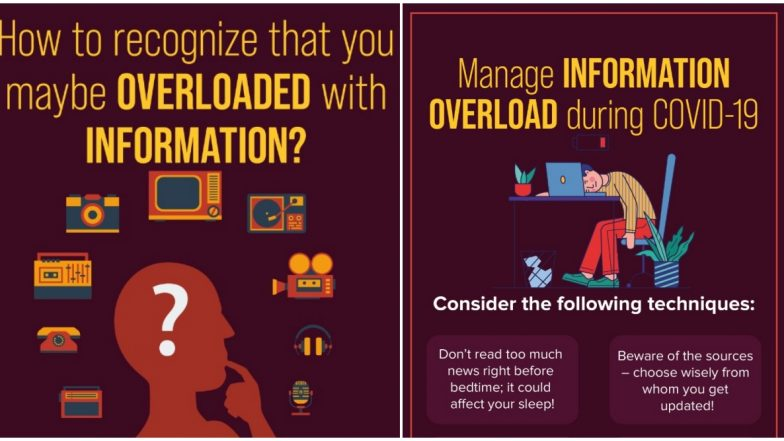 Are You Suffering From Information Overload During COVID-19 Pandemic? Government of India Gives Checklist of Symptoms and Techniques to Deal With it