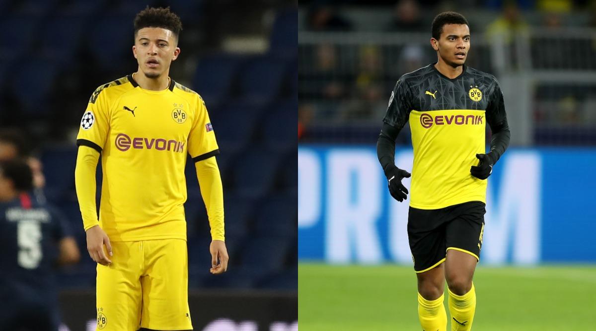 Borussia Dortmund star Jadon Sancho fuming over haircut picture fine