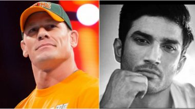 John Cena Pays Tribute to Sushant Singh Rajput With a Monochrome Picture of the Late Actor (View Post)
