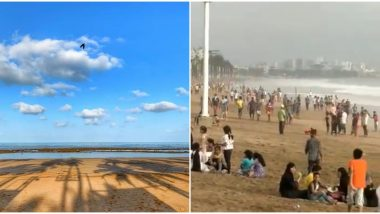Before and After! Pics and Videos of Juhu Beach in Mumbai During the Lockdown and After Unlock 1.0 Show Why We Need to Take Social Distancing Seriously
