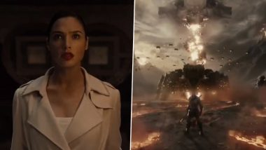 Justice League First Look Out: Zack Snyder Teases Fans With a Glimpse of Gal Gadot's Wonder Woman and the Villainous Darkseid (Watch Video)