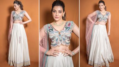When Kajal Aggarwal Dazzled With Butterfly Inspired Ethnic Style!