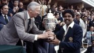 On This Day in 1983, Kapil Dev Led India To Maiden World Cup Triumph