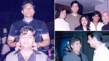 Karan Johar Is Definitely Missing The Good Ol' Days, These Throwback Pics With Shah Rukh Khan and Akshay Kumar Are Proof!