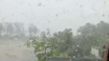 Cyclone Nisarga Landfall Videos: NDRF Shares Footage of Storm Hitting Alibaug Coast in Maharashtra's Raigad