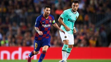 Lautaro Martinez Transfer News Update: Argentina Boss Lionel Scaloni Wants Young Striker to Partner Messi at Barcelona, Says Will Make Him 'Better Player'