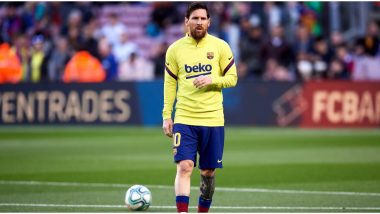 Lionel Messi Fires Warning to Osasuna by Netting an Amazing Goal Ahead of Their La Liga 2019-20 Game (Watch Video)