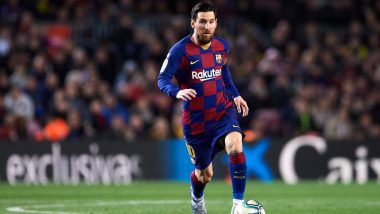 Lionel Messi Reportedly Dedicates 699th Goal to Three Sons With his New Goal Celebration