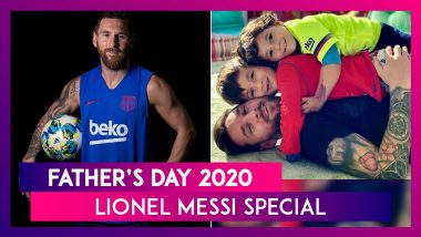 Father's Day 2020: Photos That Prove Why Lionel Messi Is Among The Coolest Dads In Sports