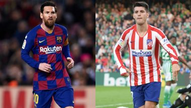 Barcelona vs Atletico Madrid, La Liga 2019-20: Lionel Messi, Alvaro Morata and Other Players to Watch Out in BAR vs ATL Football Match
