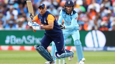 This Day That Year: England Defeat India by 31 Runs in ICC Cricket World Cup 2019 Despite MS Dhoni's Unbeaten Knock