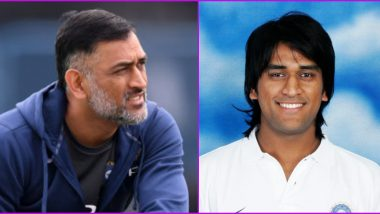 MS Dhoni Long Hair: ICC Shares MSD's Old Photo From 2006 Champions Trophy in Flashback Friday Post, Fans Say 'Miss You Mahi'