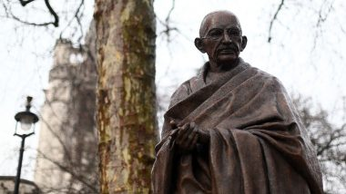 Mahatma Gandhi Statue Re-Inaugurated Outside Indian Embassy Month After Being Vandalised