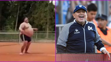 Fact Check: Diego Maradona Fat Video Going Viral Is a Scene From 2015 Movie 'Youth' Played by Actor Roly Serrano