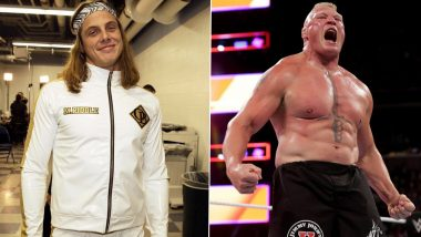 WWE Star Matt Riddle Opens Up About Brock Lesnar Controversy, Admits Vince McMahon Found His Comments Disrespectful