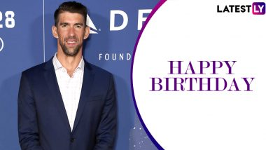 Michael Phelps Birthday Special: From Olympic Medals to Records, Interesting Facts About the Swimming Great