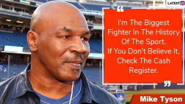 Mike Tyson Quotes With HD Images: 'I Just Want to Conquer People and Their Souls' & More Powerful Sayings by the Boxing Great to Mark His 54th Birthday