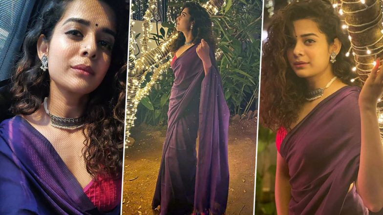Mithila Palkar Is Elegance Personified in Six-Yards in This Throwback Ethnic Chic Vibe!