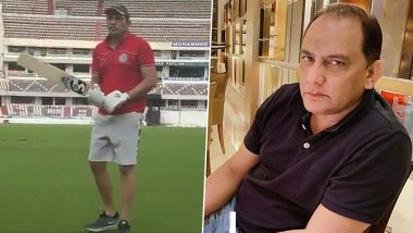 'Timing It Like Old Times': Mohammad Azharuddin Rolls Back Years and Picks Up a Cricket Bat Again