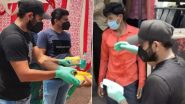 Mohammed Shami Helps Migrant Workers by Distributing Food Packets and Masks Amid Coronavirus Pandemic (Watch Video)