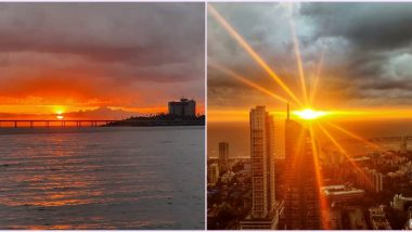 Calm 'After' The Storm! Beautiful Sunset Graces Mumbai Right After Nisarga Cyclone, Netizens Share Pics and Videos